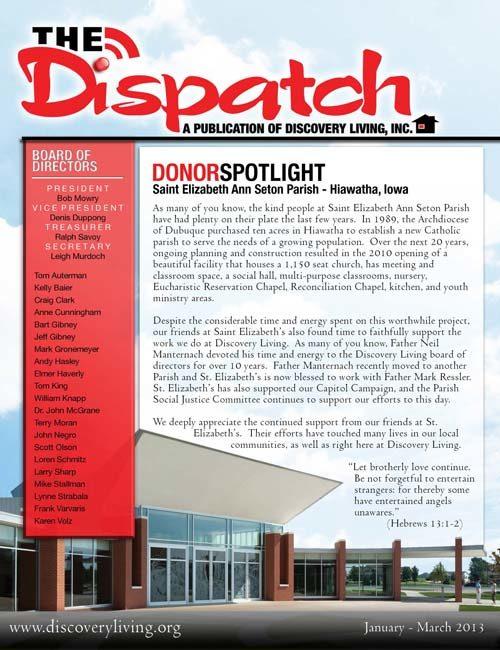 The Dispatch - 2013, Q1