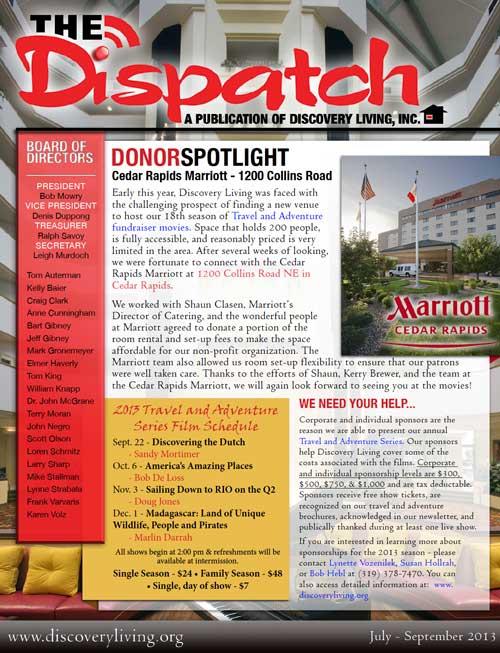The Dispatch - 2013, Q3