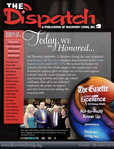 The Dispatch - 2015, Q4